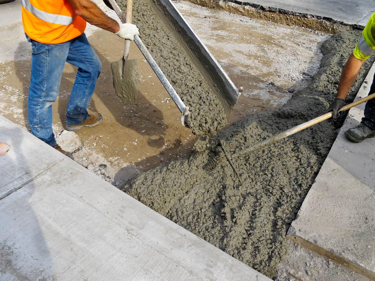 Использование бетона пневмонагнетатели бетонной смеси