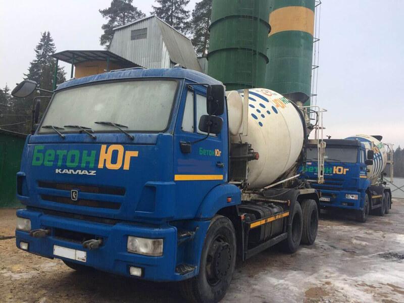 фото доставки бетона от Бетон Юг