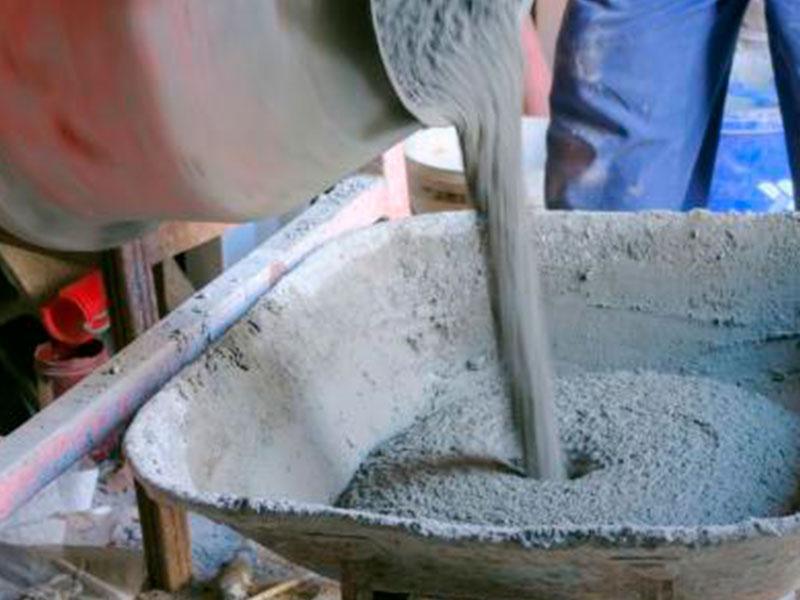 Раствор цементный